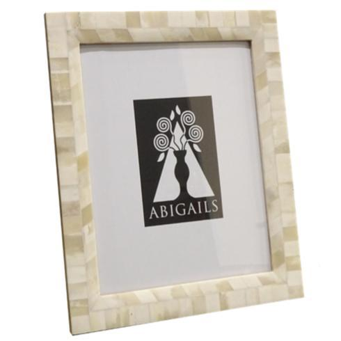 $72.00 Inlaid Frame, Cream Bone, 8X10 Photo