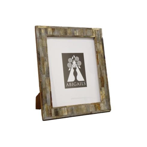 $46.00 Inlaid Frame, Gray Bone, 4X6 Photo