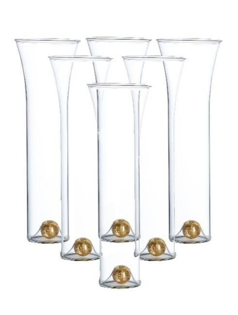$106.00 Stemless Flutes, Set Of 6