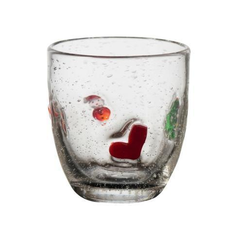 $77.00 Jingle Double Old Fashioned Glass, Set Of 4