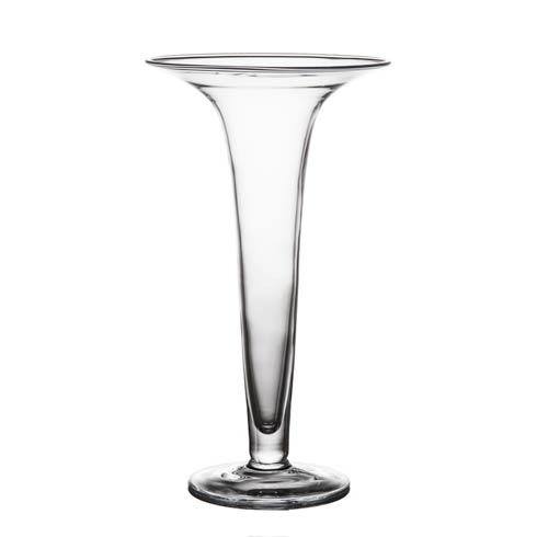 $127.00 Trumpet Vase, Clear, Large