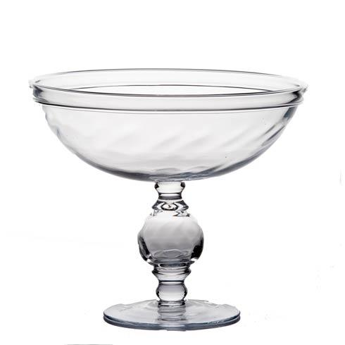 $324.00 Footed Optic Compote