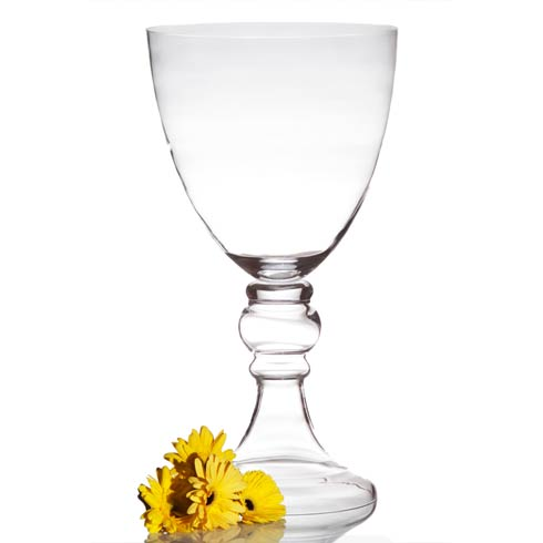 $264.00 Lillian Vase Small Clear