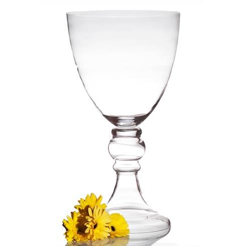 $264.00 Lillian Vase Small Clear