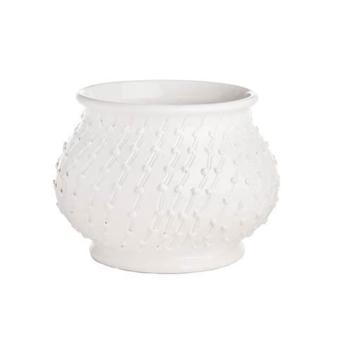 $262.00 White Planter, Medium