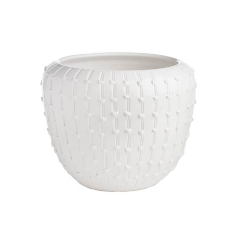 $238.00 White Planter, Large