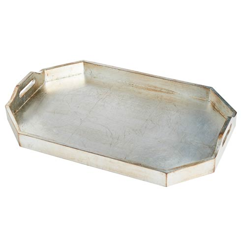 Rectangle Tray, Large, Silver Finish collection with 1 products