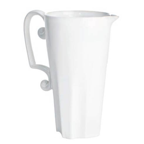 $74.00 Pitcher, Scroll Handle