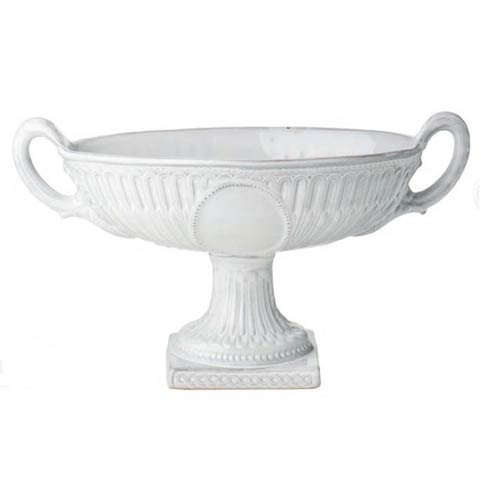 $151.00 Oval Centerpiece, White