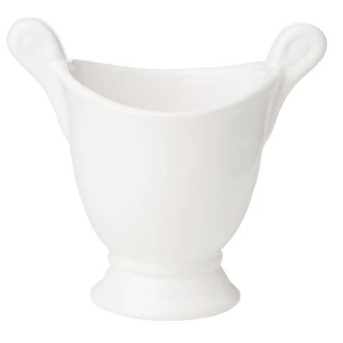 $41.00 White Cachepot, Medium