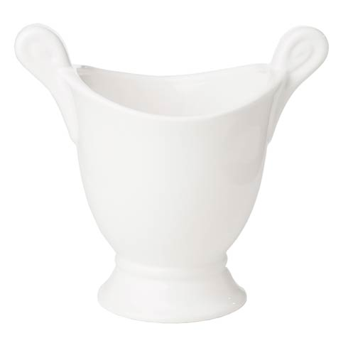 $48.00 White Cachepot, Large