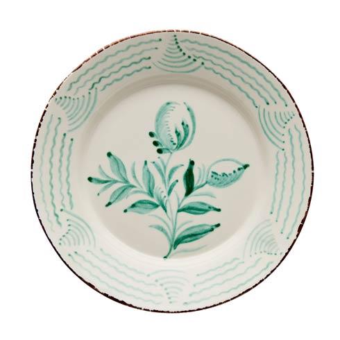 $120.00 Dinner Plate, 2 Flowers/Wave, Set Of 2