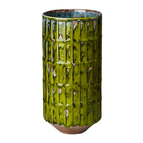 $118.00 Green Botanical Vase, Large