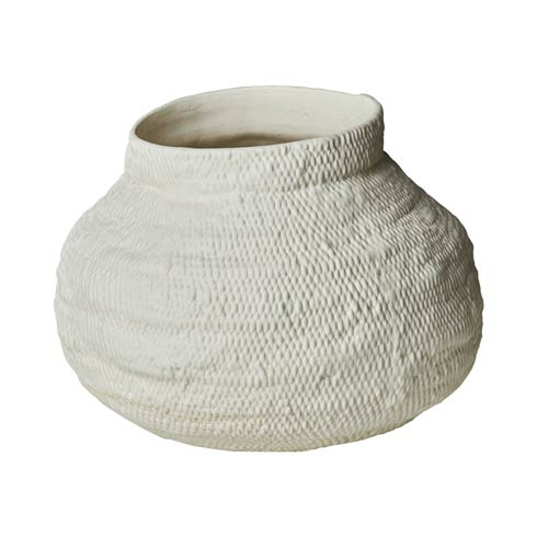 $190.00 Basket Textured Vase