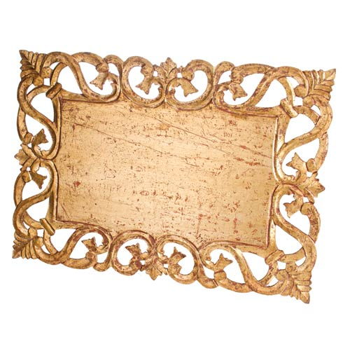 $192.00 Placemat, Antiqued Gold, Set Of 4