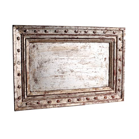 $106.00 Rectangle Tray, Silver