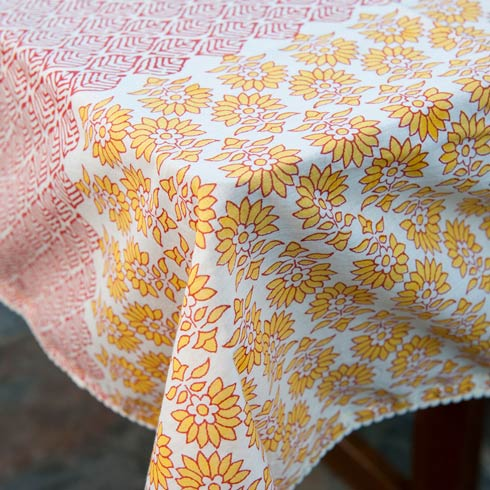 $22.00 Veranda Tablecloth, Willow 56X56