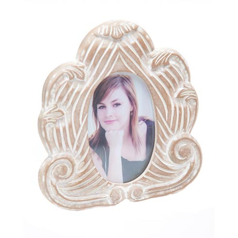 $14.00 Picture Frame, White Wash