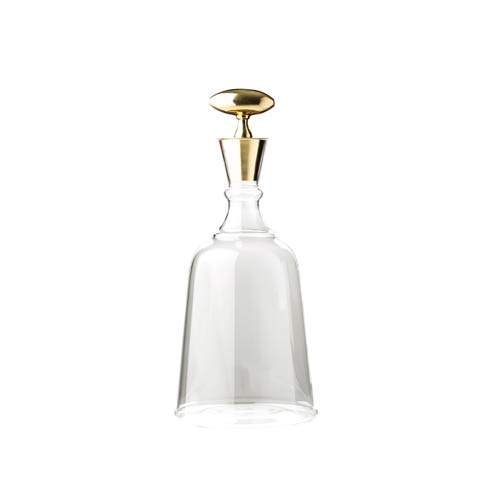 $216.00 Decanter with Brass Top, Large