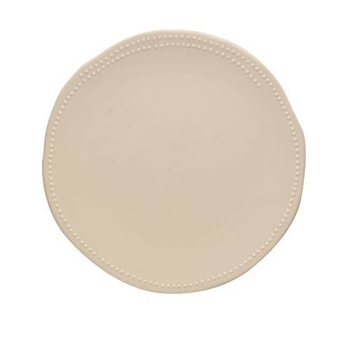 $134.00 Dinner Plate, Off White Matte, Set Of 4