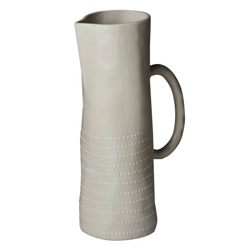 $101.00 Pitcher, Off White