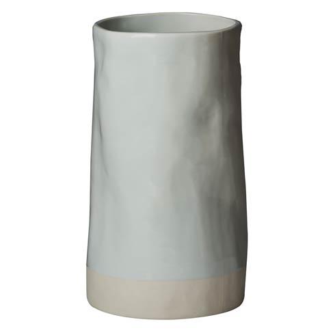 Abigails  Carmel Vase, Pale Blue $77.00