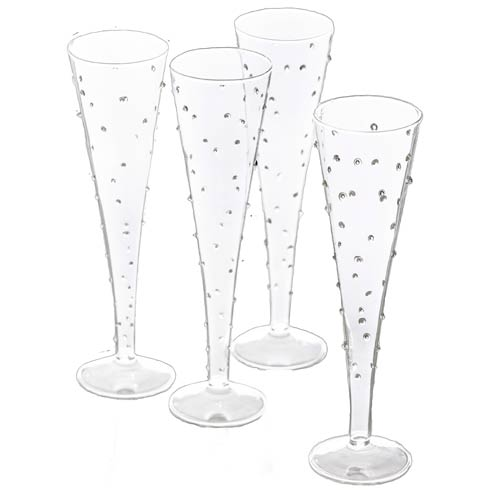 $86.00 Flute, Small Dots, Set Of 4