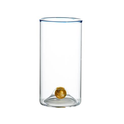$86.00 Highball, Blue Trim, Set Of 4