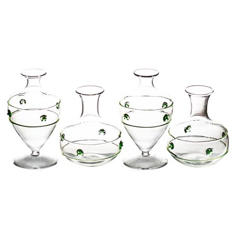 $72.00 Miss Rose Bud Vases, Set Of 4