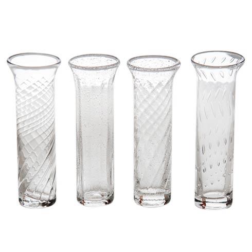$58.00 Bud Vase Set Of 4