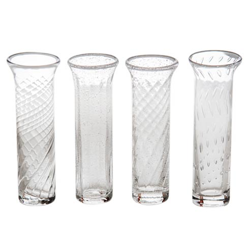 $58.00 Bud Vase Set Of 4