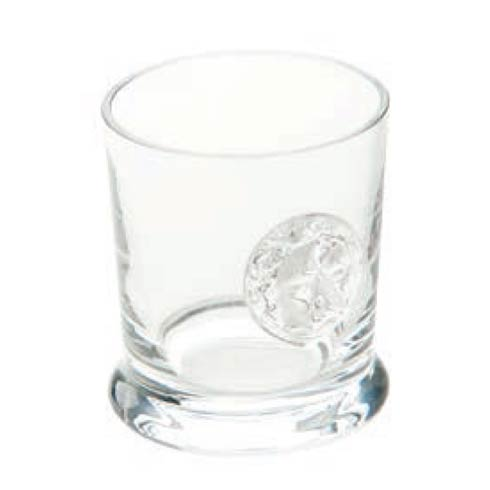 Abigails  Lionshead Medallion Double Old Fashioned, Clear, Set Of 4 $94.00