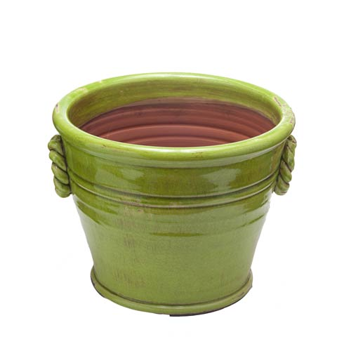 $94.00 Green Planter, Large