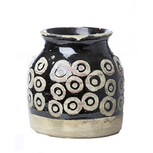 $108.00 Moroccan Vase, Circles