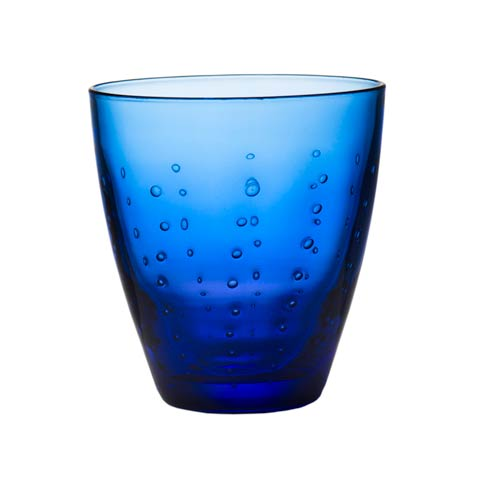 $58.00 Double Old Fashioned, Blue, Set Of 4