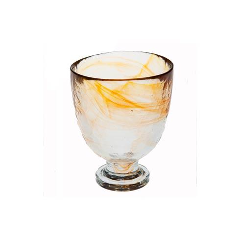 $38.00 Red Wine Glass, Tangerine, Set Of 4
