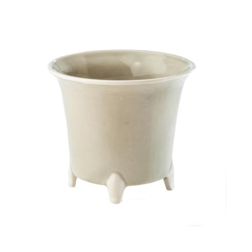 $47.00 Cachepot, Gray/White, Small