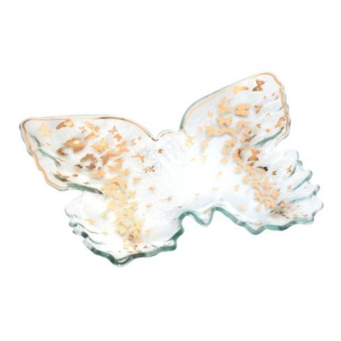 "$105.00 12 x 10"" butterfly tray"