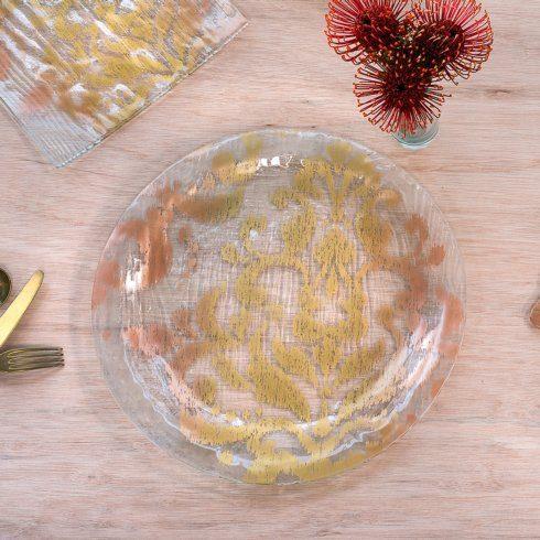 """Annieglass  Bali 15"""" round platter $109.00"""