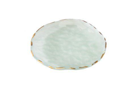 "Annieglass  Shells 9"" salad plate $59.00"