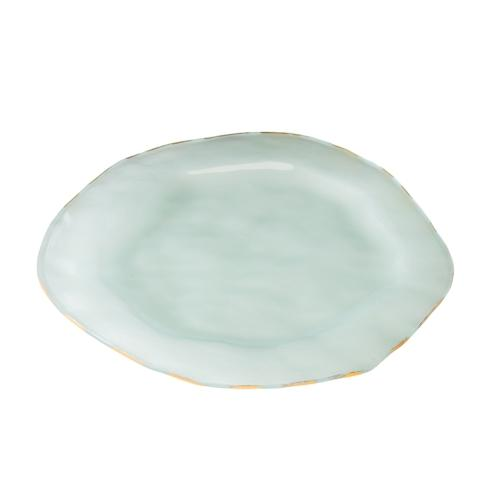 "Annieglass  Shells 12"" buffet plate $76.00"