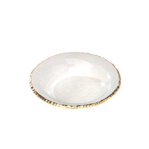 "Annieglass  Edgey 9"" soup bowl $95.00"