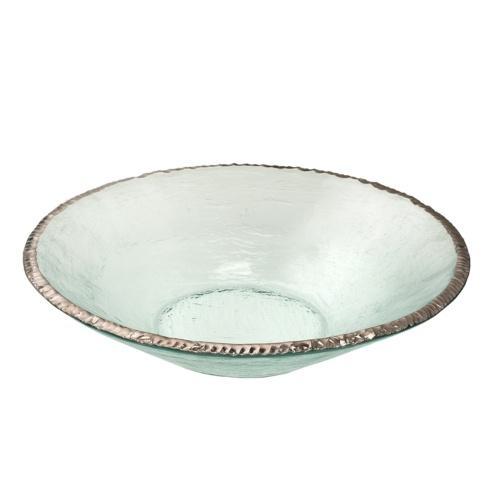 """Annieglass  Edgey 13 1/2"""" round bowl $305.00"""