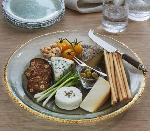 Edgey Round Party Platter