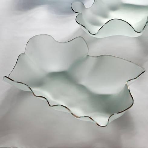 Annieglass  Sculpture Petal Frosted $284.00