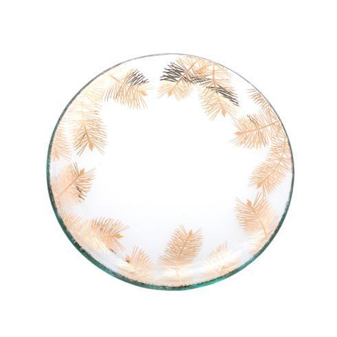 """Annieglass  Holiday 8 1/2"""" fir small plate $76.00"""