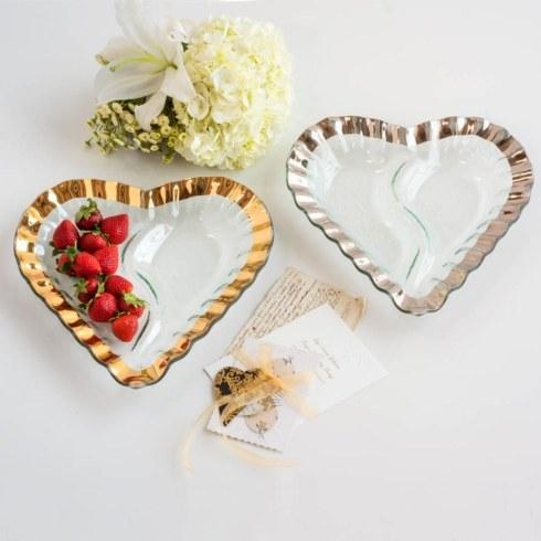 "$174.00 13"" heart chip and dip"