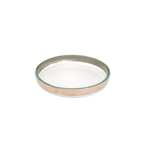 "Annieglass  Mod 6 1/2"" small round plate $61.00"