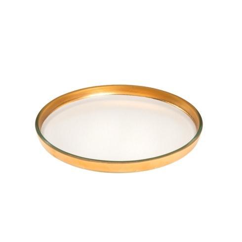 "Annieglass  Mod 9 1/4"" medium round plate $82.00"