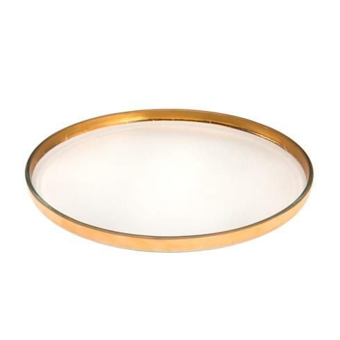 """Annieglass  Mod 12 1/2"""" large round plate $103.00"""